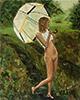 аватар Девочка с зонтиком