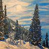 аватар Пейзаж с елками