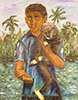 аватар Мальчик с обезьяной
